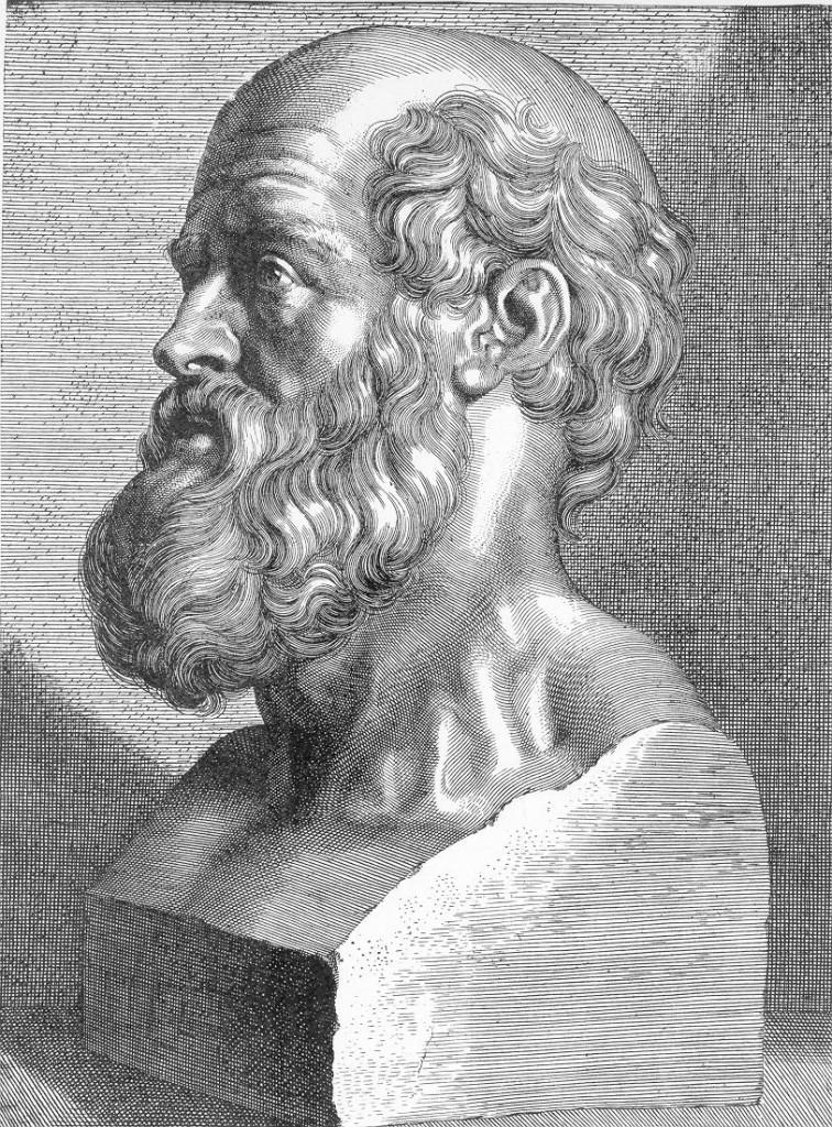 Hipócrates, griego y Padre de la Medicina