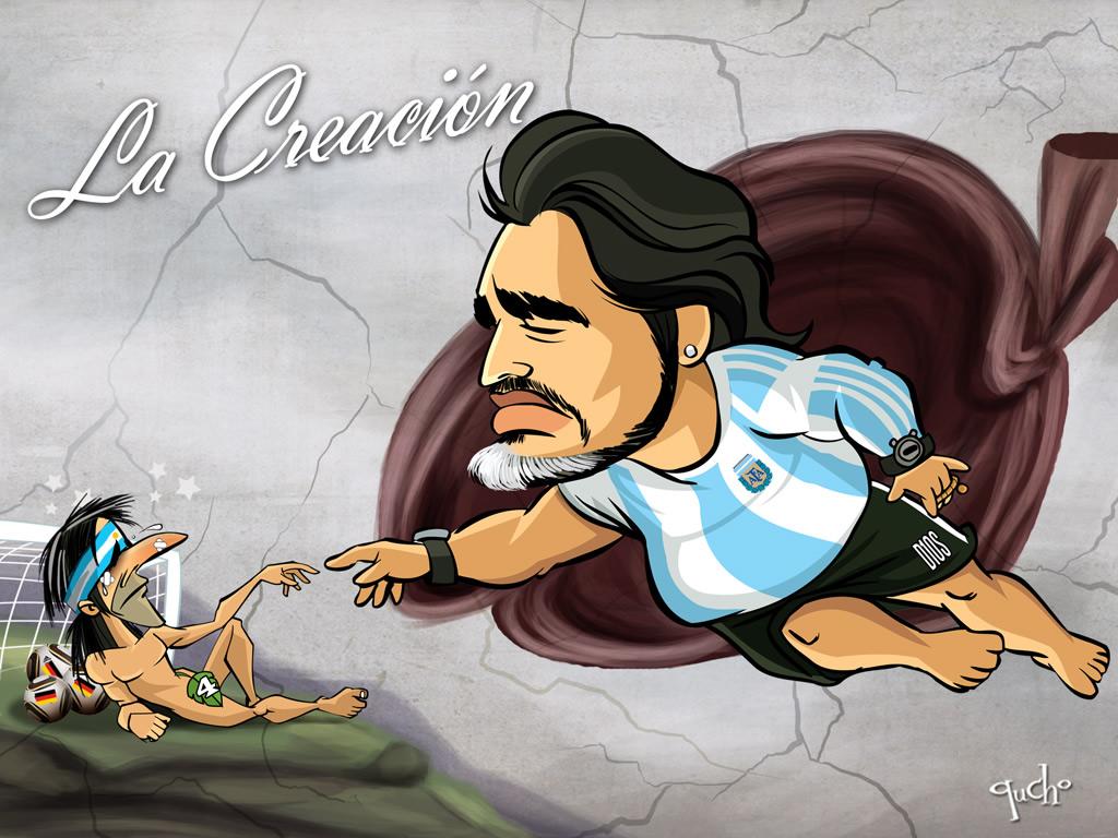 Versión argentina de la creación